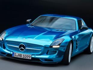 Mercedes sls amg coup electric drive l elettrica pi for Sinonimo di veloce