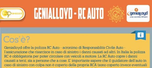 Genialloyd RCA Inforgrafica