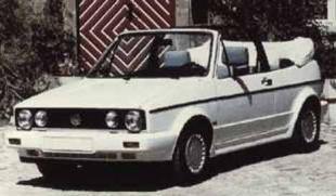 Golf Cabriolet 1600 GL