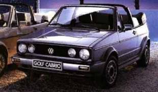 Golf Cabriolet 1600 Sport