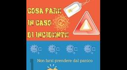 Cosa fare in caso di incidente Infografica