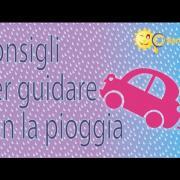 Guidare con la pioggia - Consigli di Chiarezza.it