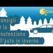 Manutenzione dell'auto: consigli per l'inverno - Consigli di Chiarezza.it