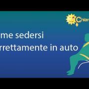Posizione di guida corretta in auto - Consigli di Chiarezza.it