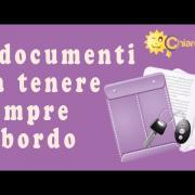 Documenti auto: cosa portare a bordo - Consigli di Chiarezza.it