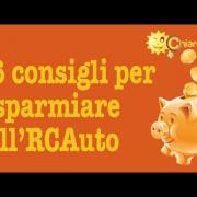 RC Auto: come risparmiare - Consigli di Chiarezza.it