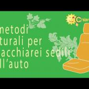 4 metodi naturali per smacchiare i sedili dell'auto - Consigli di Chiarezza.it
